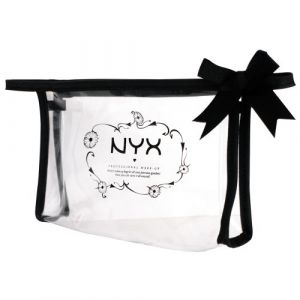 NYX Cosmetics Trousse de maquillage transparente de NYX No3