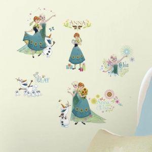 Room Studio Stickers printemps la Reine des Neiges - Disney