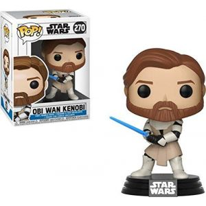 Funko Figurine Pop! Star Wars: Clone Wars: Obi Wan Kenobi