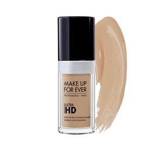 Make Up For Ever Ultra HD Y255 Sand Beige - Fond de teint couvrance invisible