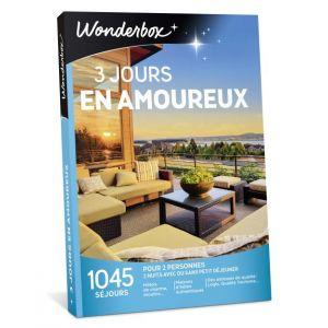 Wonderbox 3 jours en amoureux - Coffret cadeau