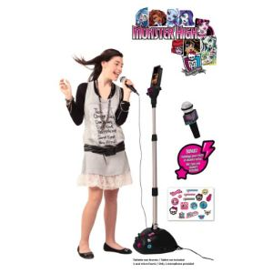 Lexibook Karaoké Micro Star Monster High avec station d'accueil