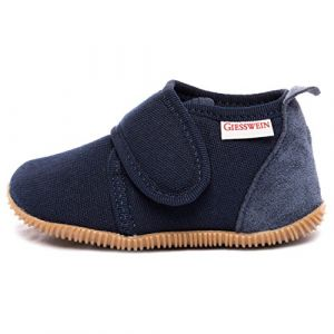 Giesswein Chaussons enfant STRASS SLIM FIT bleu - Taille 23