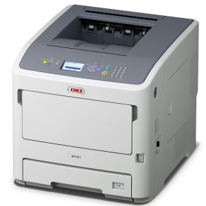 Oki B721dn - Imprimante laser A4 recto/verso Lan
