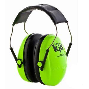 3M Peltor Kid - Protection enfants Neon Vert