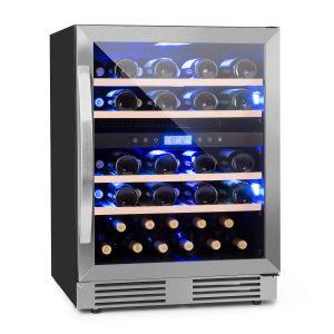 Klarstein Vinovilla Duo43 - Cave à vin 2 zones 129 L 43 bouteilles