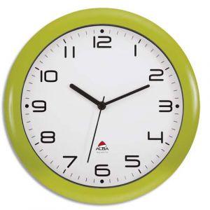 Leitz Horloge silencieuse diamètre vert anis