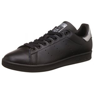 Adidas Stan Smith, Baskets Mode Femme, Noir (Core Black/Core Black/Supplier Colour), 36 2/3 EU