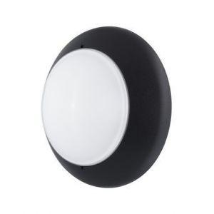 Ebénoid Hublot extérieur Ø 310mm anneau noir diffuseur verre pour lampe B22 230V (non incl) CL2 IK02 IP54 DUNE 310 079072