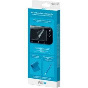 Nintendo Stylet et chiffon de nettoyage pour game pad Wii U