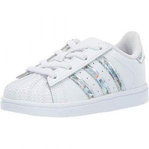 Adidas Superstar C Mixte Enfant, Blanc FTWR White, 35 EU