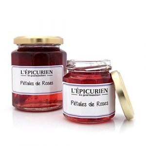 L'Epicurien Confiture petales de rose 330g