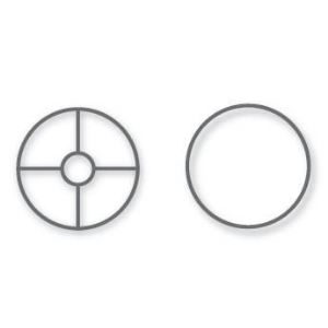 Rayher 25-054-00 - Cercle métal pour abat jour ø 30 cm