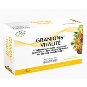Laboratoire des Granions Granion+ Vitalité - 30 comprimés