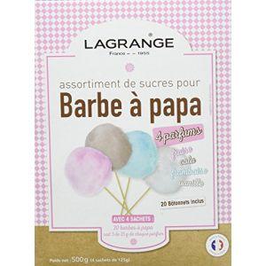 Lagrange Assortiment de sucres pour barbe à papa