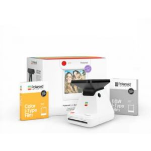 Polaroid Originals Lab - Imprimante photo portable + 8 Films Color + 8 Films Noir et blanc