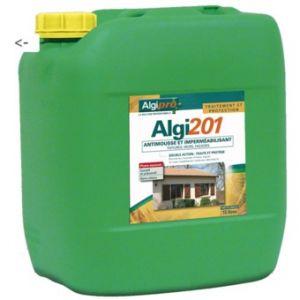 Algimouss Antimousse et imperméabilisant phase aqueuse Algi201 bidon de 15 litres