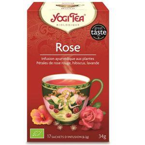 Yogi Tea Rose - Infusion ayurvédique 17 sachets
