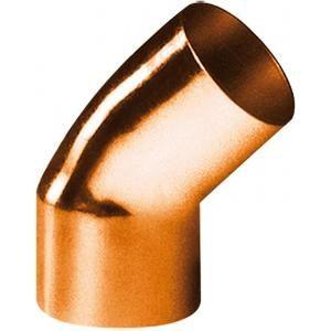 Image de Rl decor 5040-14 - Coude cuivre 5040 petit rayon 45° male femelle D14