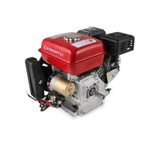 Eberth Moteur à essence 6,5 cv 4,8 kw thermique 4 temps 19,05mm démarreur électrique