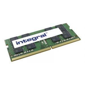 Integral DDR4 - 16 Go - SO DIMM 260 broches - 2400 MHz / PC4-19200 - CL17 - 1.2 V - mémoire sans tampon - non ECC