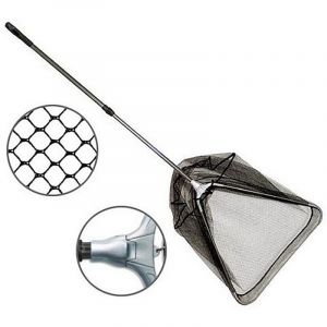 Zebco Angelkescher-épuisette télescopique-mesh, 7027175 wide