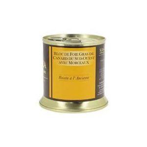 R. Junca Bloc de foie gras de canard du Sud-ouest (avec morceaux)