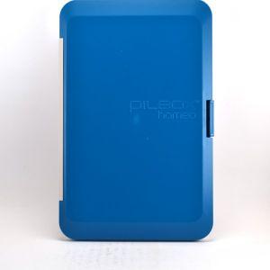 Cooper Pilbox Homéo - Rangement homéopathie turquoise (Contenance 18 tubes + 8 doses)