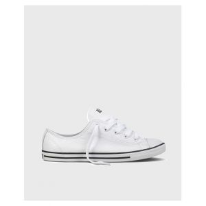 9b99cb81f65a4 Converse Baskets basses CHUCK TAYLOR ALL STAR DAINTY CUIR OX blanc - Taille  36