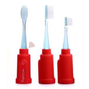 Vigilant Rainbow - Brosse à dents connectée pour smartphone et tablette