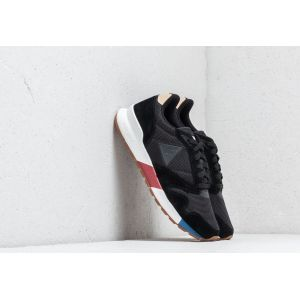 Le Coq Sportif Omega X Sport Black, Baskets Hommes, Noir, 45 EU