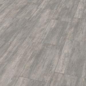 Wineo 400 Stone | Dalle PVC clipsable hybride 'Courage Stone Grey' - 60,1 x 31 cm