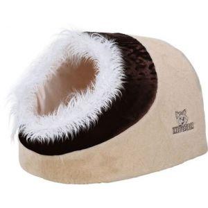 Knuffelwuff panier chien, lit pour chien, coussin, corbeille pour chien Lit grotte Cuddly 50 x 41 x 30cm