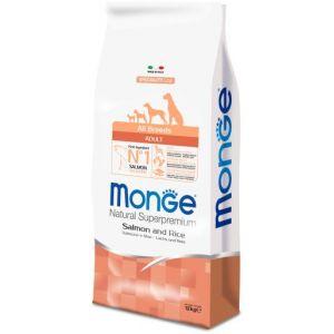 Monge NATURAL SUPERPREMIUM Salmon Dog Dry Dog Food prime,