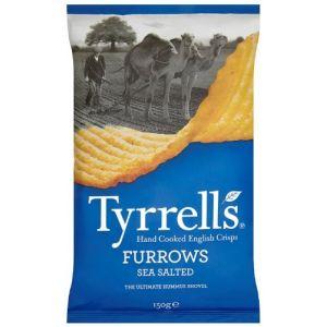 Tyrrell's Chips Ondulées au Sel de Mer 150 g