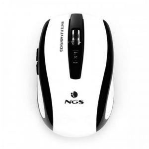 NGS White Flea Advanced - Souris 6 boutons sans fil 2.4