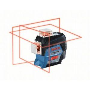 Bosch Laser lignes rouge GLL 3-80 Connecté + BM 1 Plus + L-Boxx
