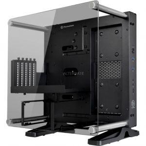 Thermaltake Core P1 TG Mini ITX - Boîtier Moyen tour verre trempé sans alimentation