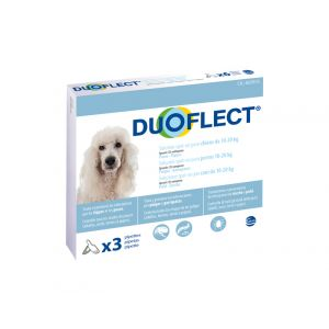 Ceva Duoflect chiens 10-20 kg 3 pipettes