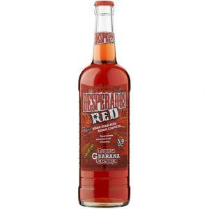 Desperados Bière Red aromatisée Tequila, Cachaça, Guarana - La bouteille de 650ml