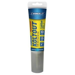 Cyanolit Colle koltout transparent tube 125 ml E