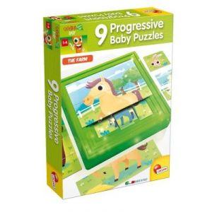 Lisciani Giochi Puzzle progressif La Ferme