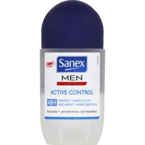 Sanex Men Active Control - Déodorant roll-on