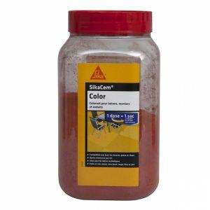 Sika Colorant en poudre pour ciment, chaux et plâtre cem color 400g - ocre