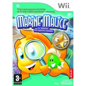 Marine Malice : le Mystère des Graines d'Algues [Wii]