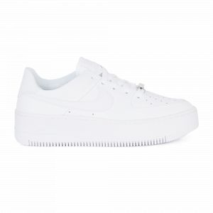Nike Chaussure Air Force 1 Sage Low pour Femme - Blanc - Taille 40