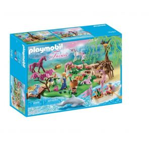 Playmobil 70167 Ile Avec Fee Et Animaux Enchantes