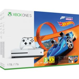 Microsoft Pack Console Xbox One S 1 To + Forza Horizon 3 + Hot Wheels