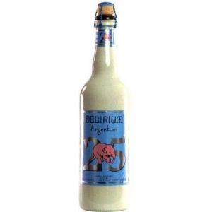 Brasserie Huyghe Delirium Argentum - Bière Blonde - 75 cl - 7 %