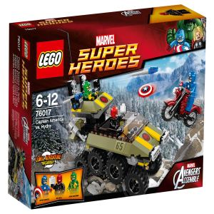Lego 76017 - Super Heroes : Marvel Comics - Captain America vs. Hydra